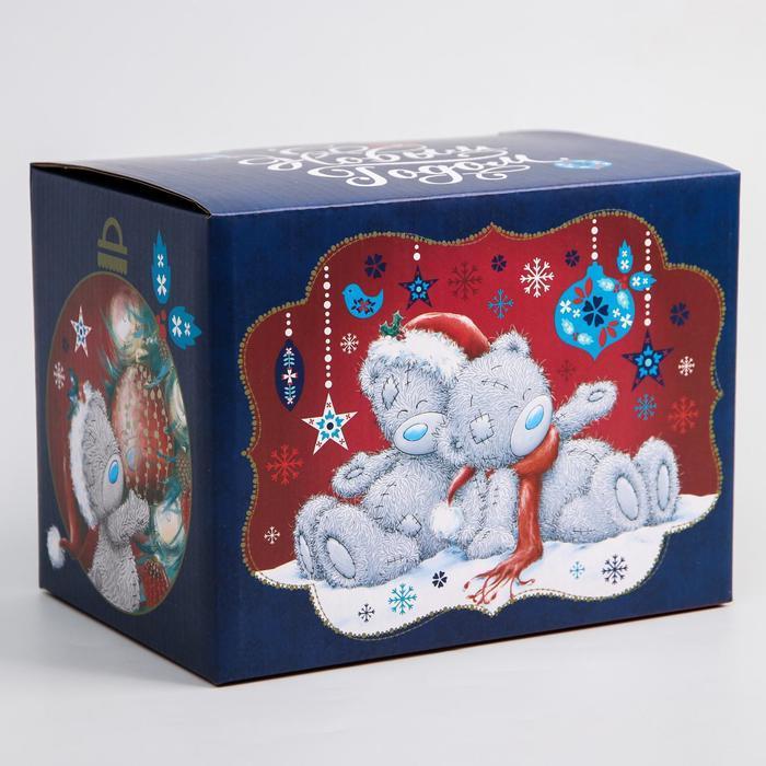 Коробка подарочная складная 'С Новым Годом', Me To You, 20 x 15 x 14 см - фото 1