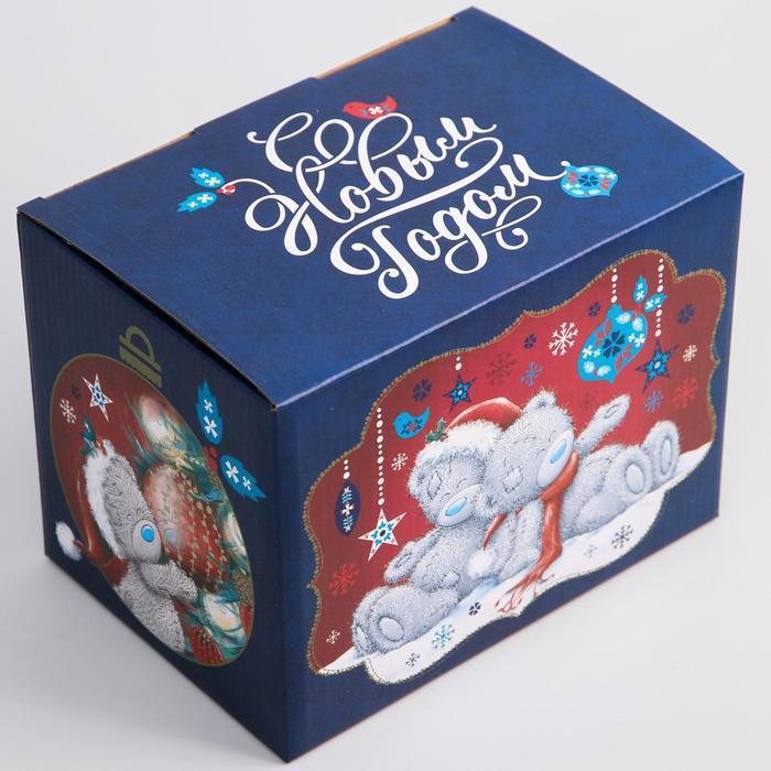Коробка подарочная складная 'С Новым Годом', Me To You, 20 x 15 x 14 см - фото 2