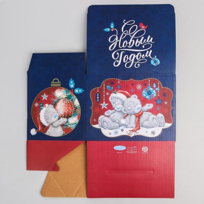 Коробка подарочная складная 'С Новым Годом', Me To You, 20 x 15 x 14 см - фото 3