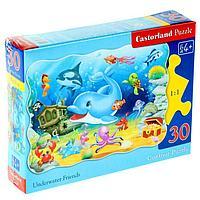 Пазл 'Подводные друзья', 30 элементов