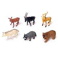 Набор животных 'Лесные звери', 6 фигурок