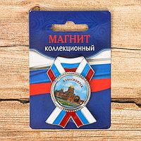 Магнит в форме ордена 'Новосибирск. Собор Александра Невского'
