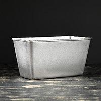 Форма для выпечки хлеба 'Кирпич', 21,5x11,5x11 см, литой алюминий