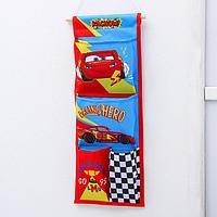 Кармашки вертикальные настенные 'Racing hero', Тачки