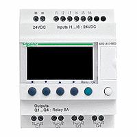 SR2A101BD  Zelio Logic реле компакт 10Вх/вых 24В