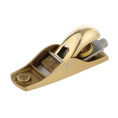 Рубанок торцовочный Lie-Nielsen N102 LA 133 31.7мм, бронзовая колодка