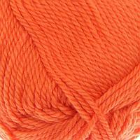 Пряжа 'Мериносовая' 50меринос.шерсть, 50 акрил 200м/100гр (284-Оранжевый)