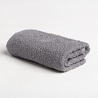 Полотенце махровое Экономь и Я 30х60 см, цв. серый, 100 хлопок, 320 гр/м2