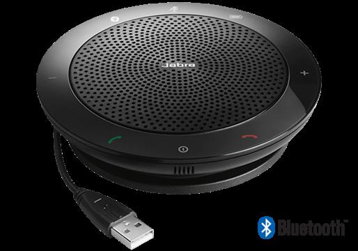 Jabra SPEAK 510+ MS Проводной спикерфон c Bluetooth и Link 360 адаптером в комплекте (7510-309)