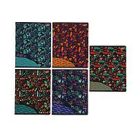 Тетрадь 60 листов в клетку 'Путешествие', обложка мелованный картон, УФ-лак, блок офсет, МИКС (комплект из 3