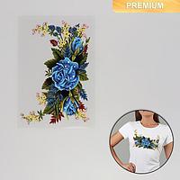 Термотрансфер 'Цветы', 12 x 18 см (комплект из 5 шт.)