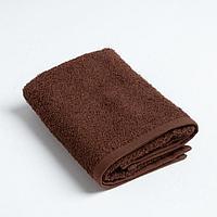 Полотенце махровое Экономь и Я 30х60 см, цв. шоколад, 100 хл, 320 г/м