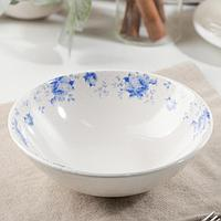 Салатник 'Кантри синие цветы', 450 мл, d16 см