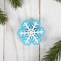 Карнавальный значок 'Снежинка', световой (комплект из 15 шт.)