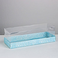 Коробка для десерта Flowers , 26, 2 х 8 х 9,7 см (комплект из 10 шт.)