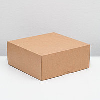 Упаковка для продуктов, 25,5 х 25,5 х 10,5 см, 6 л (комплект из 15 шт.)