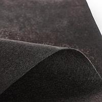 Лоскут для рукоделия, 43 х 43 см, фетр тёмно-серый, 160 гр/м
