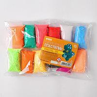Набор лёгкого прыгающего пластилина 12 цветов МИКС