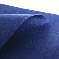 Лоскут для рукоделия, 42 х 42 см, фетр синий, 160 гр/м