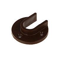 Штангодержатель накладной коричневый (комплект из 10 шт.)