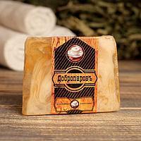 Косметическое мыло для бани и сауны 'Капучино', 'Добропаровъ', 100 гр.