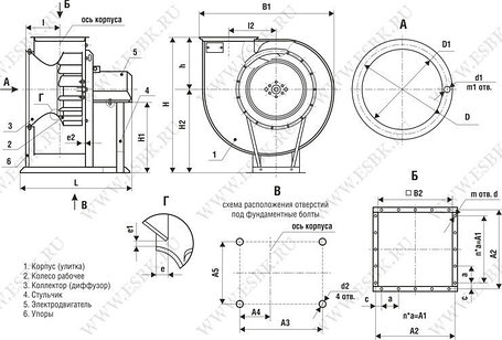 ВР 80-75-5 двиг 0,55/1000об/мин, фото 2