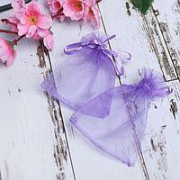 Мешочек подарочный 7*9, цвет фиолетовый (комплект из 100 шт.)