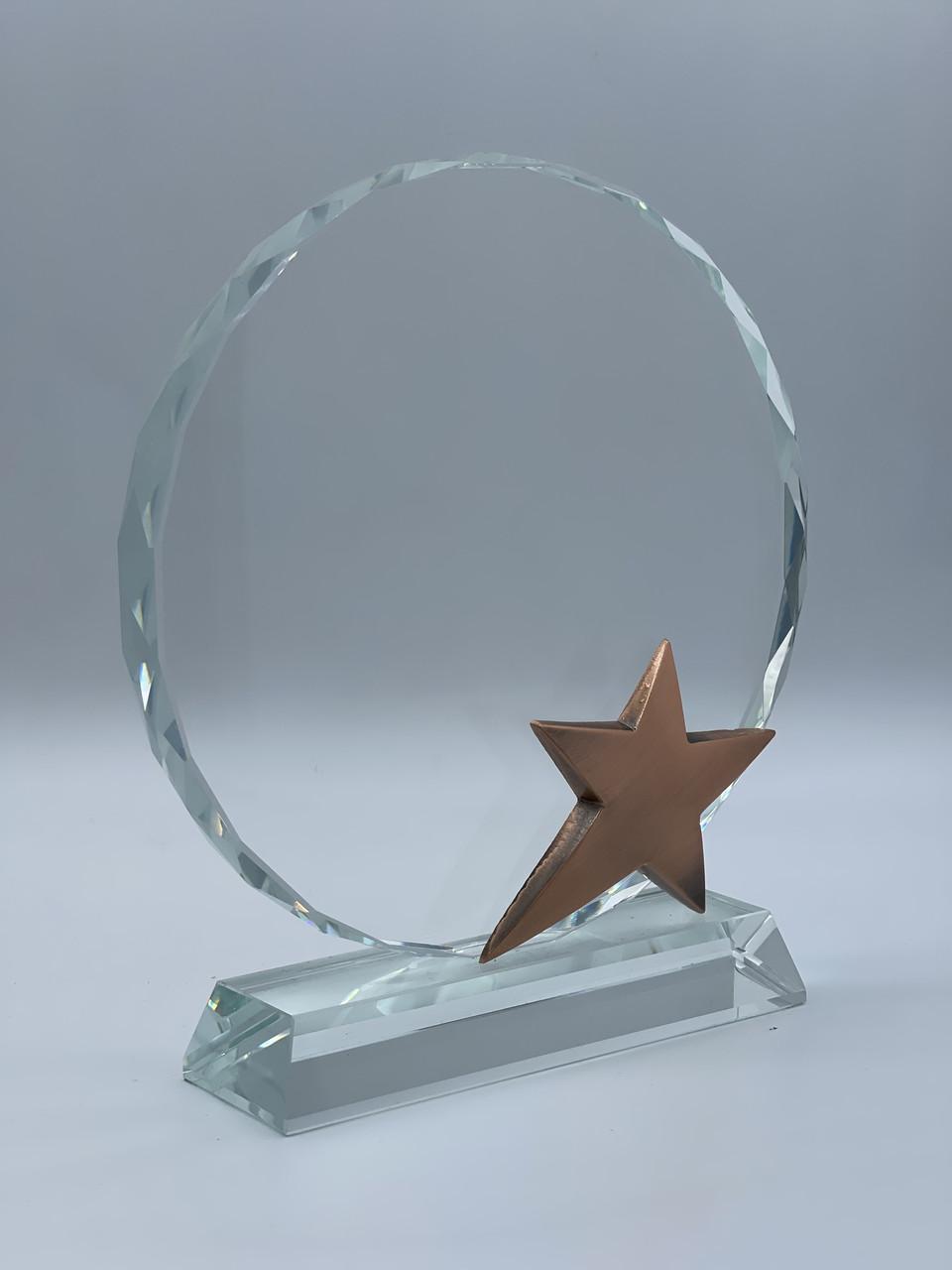 Награда из стекла, Bronze