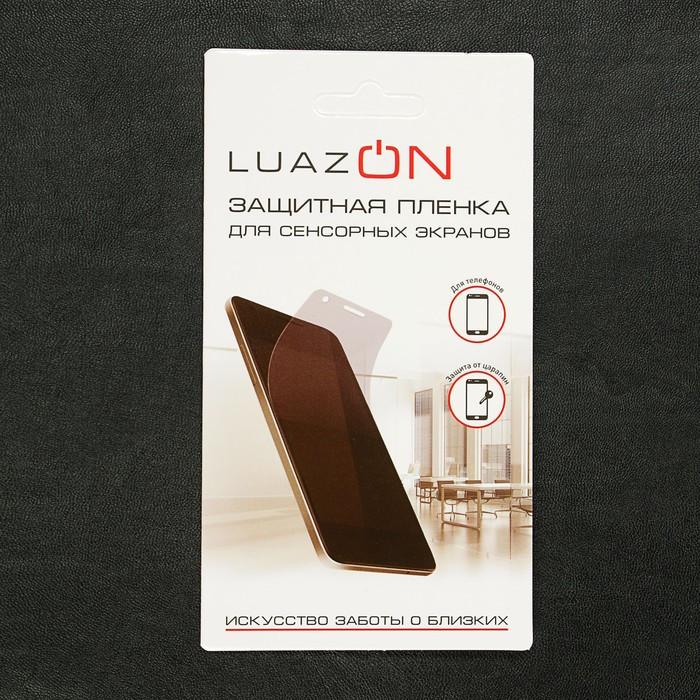 Защитная пленка LuazON, для iPhone XS Max, прозрачная - фото 5