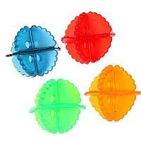 Набор шаров для стирки белья, d5 см, 4 шт, цвет МИКС