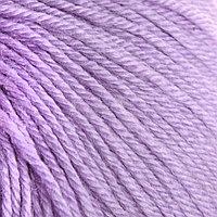 Пряжа 'Baby Wool' 40 шерсть, 40 акрил, 20 бамбук 175м/50гр (146 сирень)