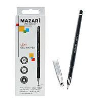 Ручка гелевая Lexy, игольчатый пишущий узел 0.5 мм, чёрная, в форме кристалла (комплект из 12 шт.)