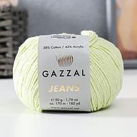 Пряжа 'Jeans-GZ' 58 хлопок, 42 акрил 170м/50гр (1127) (комплект из 2 шт.)