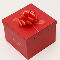 Бант-шар 3 'Сердечки', цвет красный (комплект из 10 шт.)