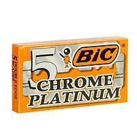 Лезвия BiC PLATINUM chrome на карте, 5 шт.