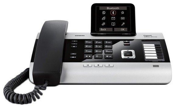 IP телефон Gigaset  DX800A с поддержкой аналоговой линии ISDN и Bluetooth