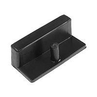 Латодержатель TUNDRA для металлической конструкции ЛДМ 64/2, черный (комплект из 20 шт.)