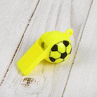 Свисток 'Футбол', цвета МИКС (комплект из 24 шт.)