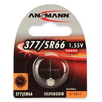 Батарейка часовая 377 / SR66 Ansmann 1.55 V