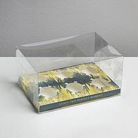 Коробка для капкейка 'Камень', 16 x 8 x 11.5 см (комплект из 5 шт.)