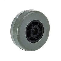 Колесо мебельное TUNDRA обрезиненное d50 мм, с утопленной ступицей, серое (комплект из 20 шт.)