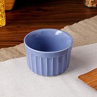 Форма для выпечки 'Рамекин', сиреневый цвет, керамика, 0.2 л