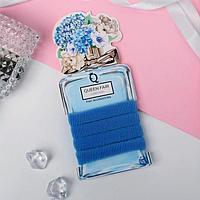 Резинка для волос 'Весенняя радость' (набор 4 шт) 6,5 см, голубой (комплект из 6 шт.)