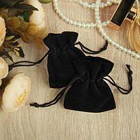 Мешочек подарочный универсальный 'Дарк' 7*5, цвет чёрный (комплект из 100 шт.)