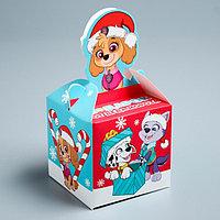 Подарочная коробка 'С Новым Годом!', PAW PATROL, 9 х 9 х 9 см (комплект из 5 шт.)