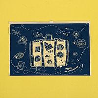Пакет для хранения вещей 'Круиз по мечтам', 36 x 24 см (комплект из 30 шт.)