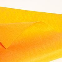 Лоскут для рукоделия, 42 х 42 см, фетр оранжевый, 160 гр/м