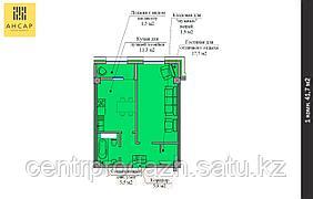 1 комнатная квартира в ЖК Ансар 41.7 м²
