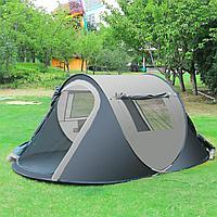 Палатка автомат 250х150х100 см Fast camp серая