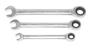 Partner Ключ комбинированный трещоточный 15мм Partner PA-3115 7541